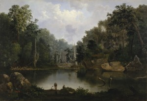 Robert S. Duncanson. Blue Hole, Little Miami River. 1851. Cincinnati Art Museum.
