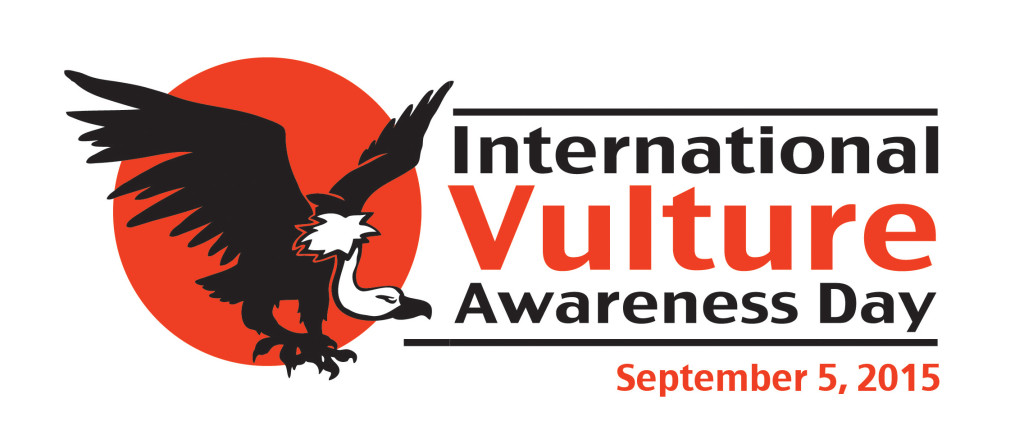 Logo for International Vulture Awarenerss Day 2015