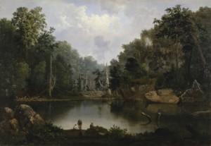 Robert S. Duncanson. Blue Hole, Little Miami River. 1851. Cincinnati Art Museum.